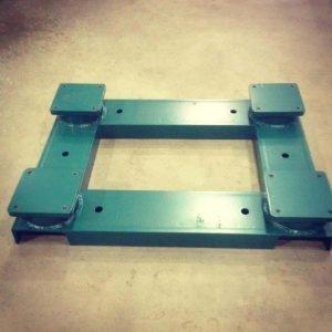 Centrifuge base plate