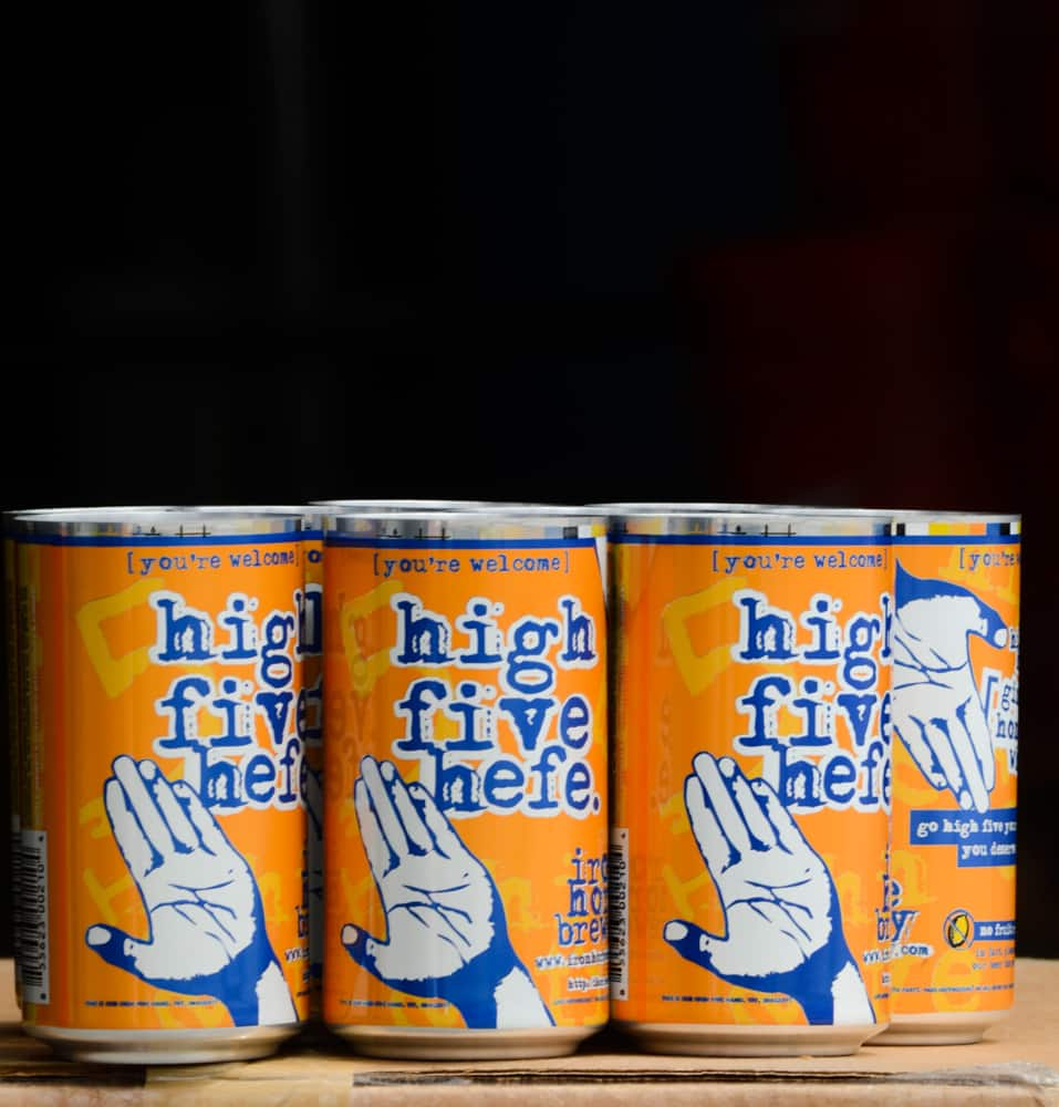 High Five Hefe - Pilot Cans