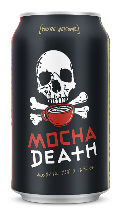 Mocha Death 12 oz Can