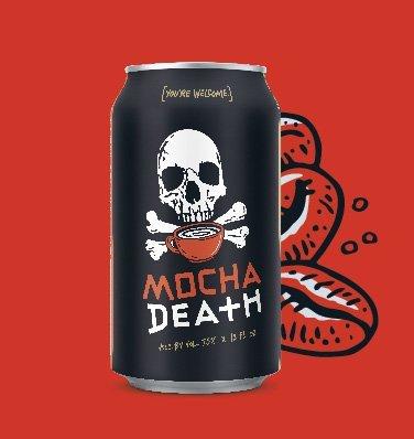 Mocha Death Card
